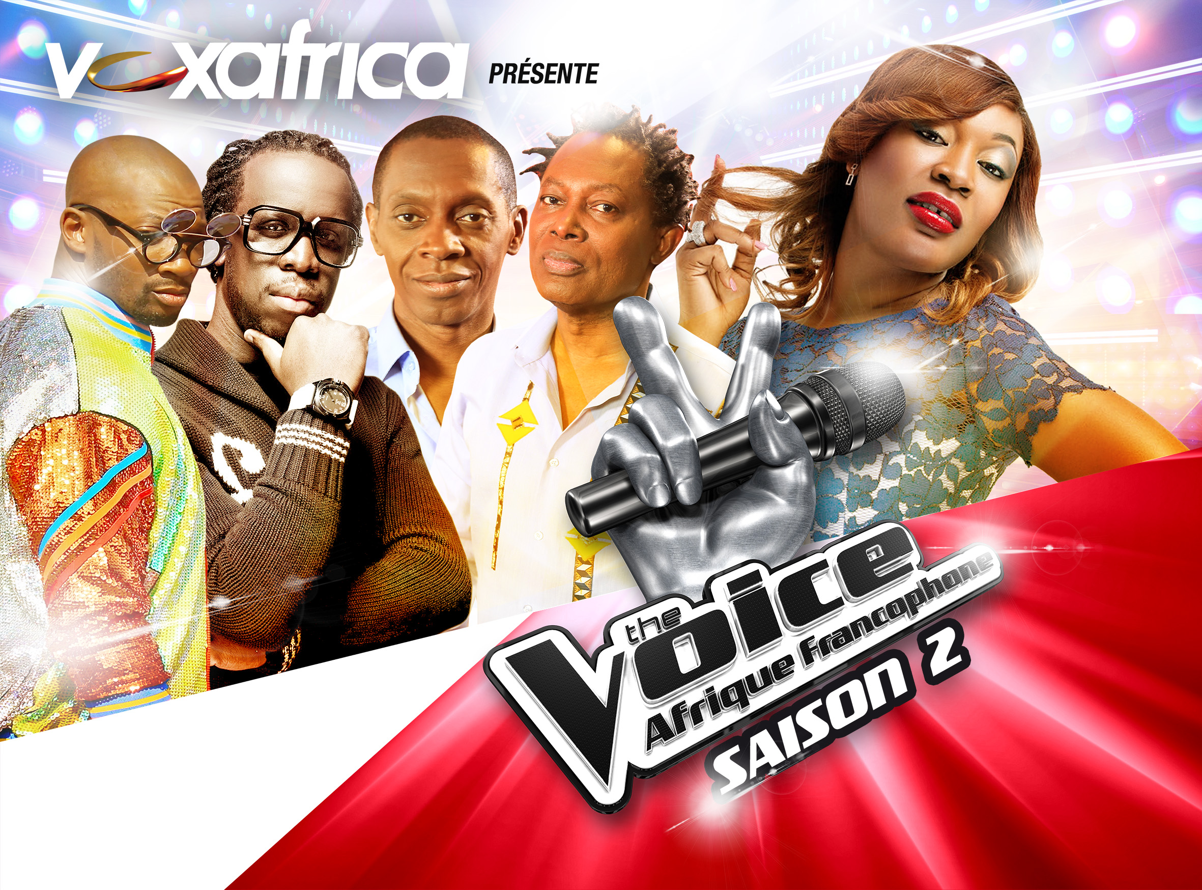 THE VOICE AFRIQUE FRANCOPHONE – THE LIVE SHOWS HAVE KICKED OFF