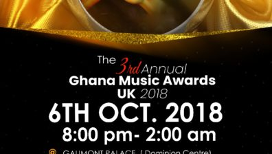 The Annual Ghana Music Awards UK Is Back.