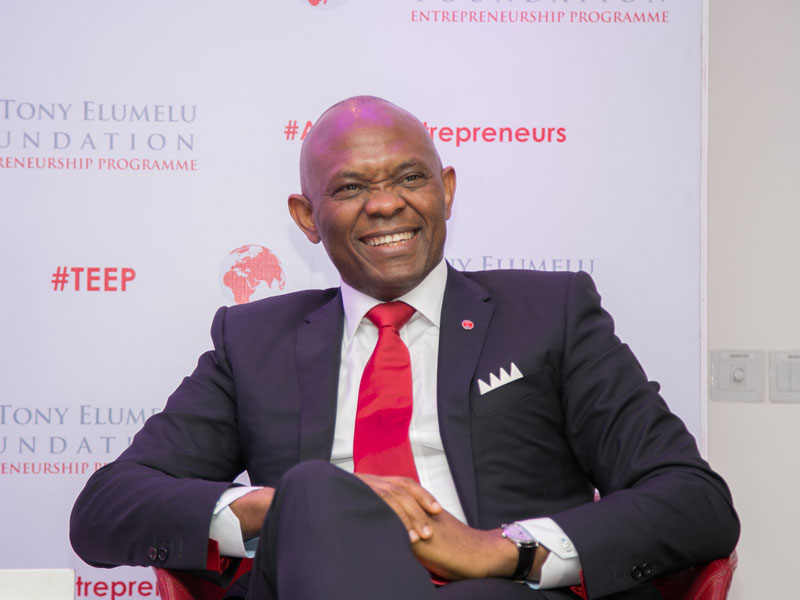 Group Chairman, UBA, Mr. Tony Elumelu