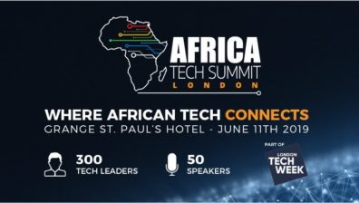 AFRICA TECH SUMMIT LONDON | WHERE AFRICAN TECH CONNECTS