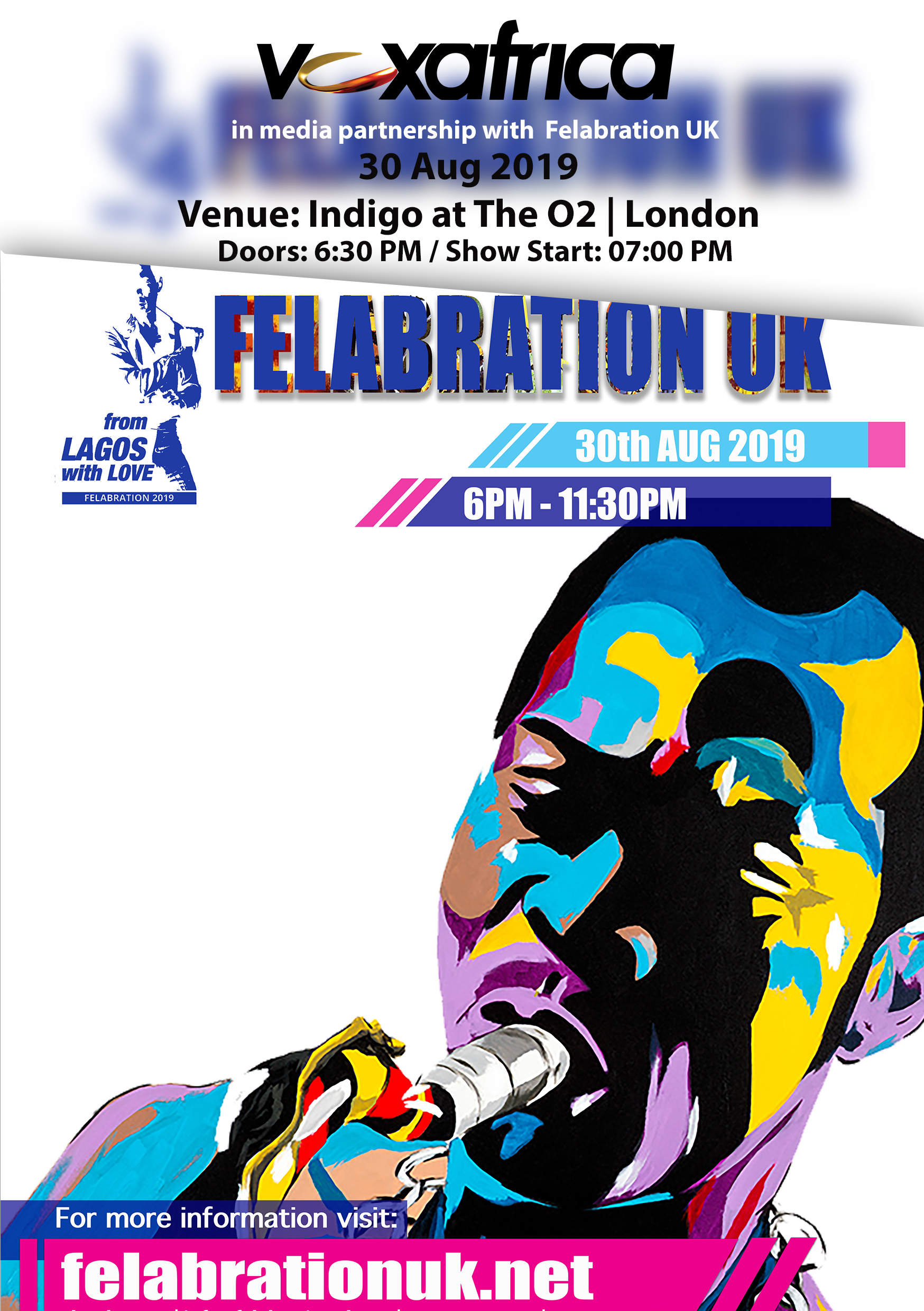 FELABRATION HONOURING THE 'LIFE & LEGACY' OF FELA ANIKULAPO KUTI