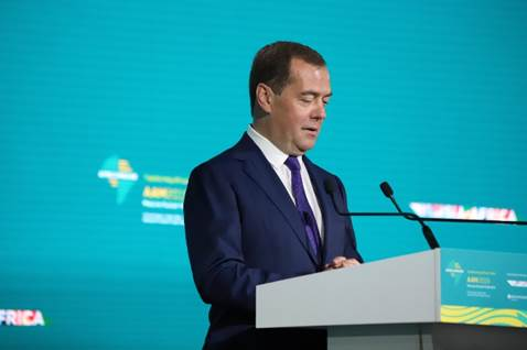 RUSSIA AND AFRICA SHOULD HARNESS RESOURCES FOR GREATER ECONOMIC GROWTH, MEDVEDEV TELLS AFREXIMBANK SHAREHOLDERS