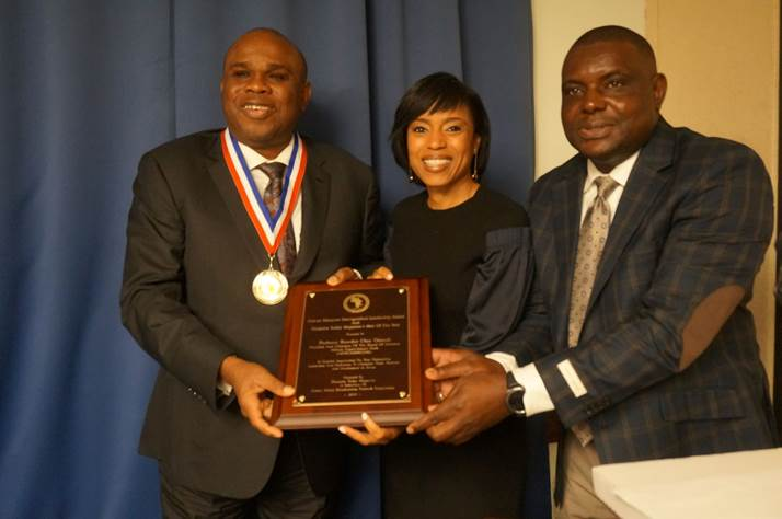 AFREXIMBANK PRESIDENT RECEIVES TWO AWARDS IN THE U.S.
