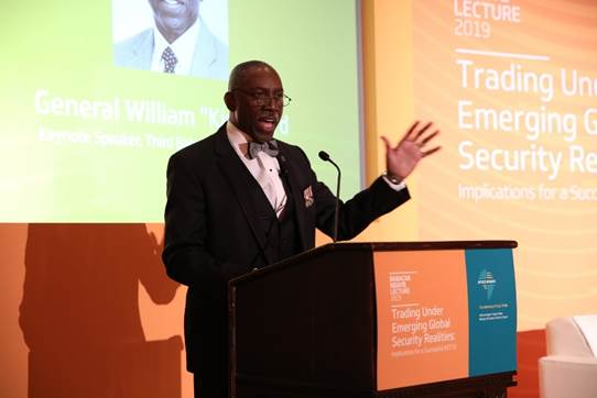 ADDRESS SECURITY SECTOR CORRUPTION AND ABUSE OF POWER FOR EFFECTIVE AFCFTA IMPLEMENTATION, FORMER AFRICOM COMMANDER URGES AT BABACAR NDIAYE LECTURE