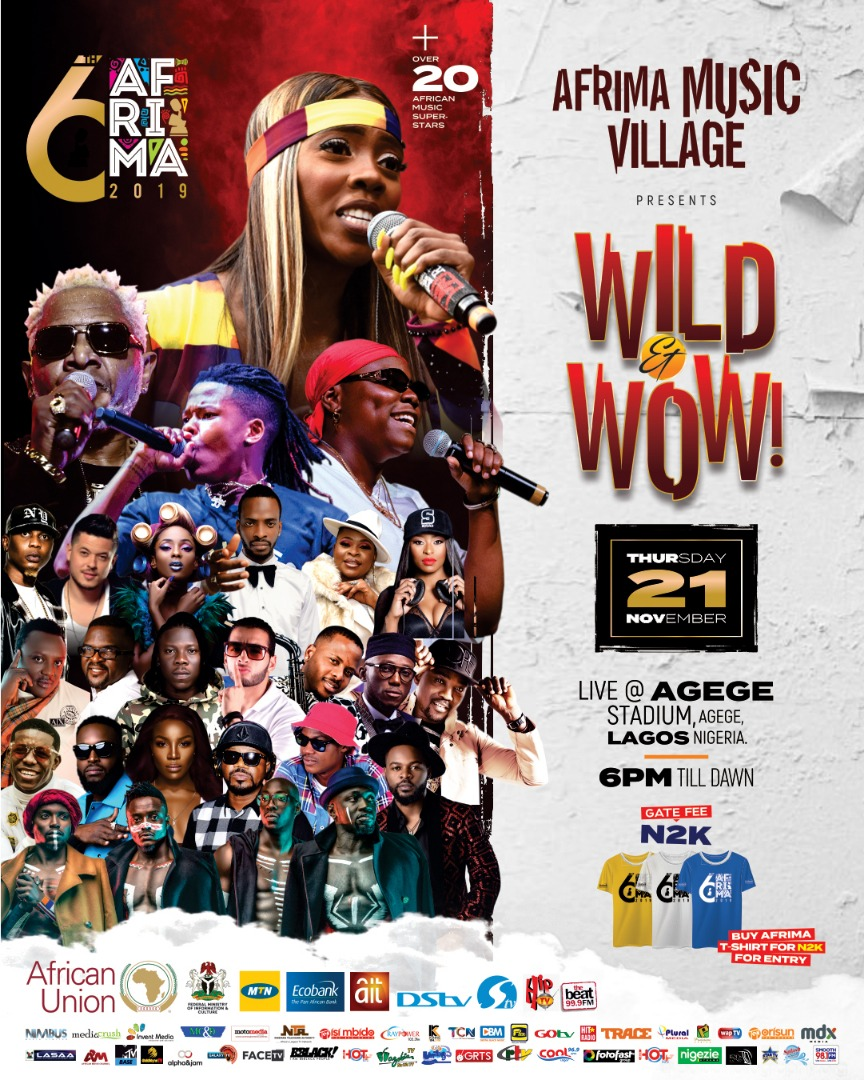 OVER 30 AFRICAN SUPERSTARS TO THRILL FANS AT THE 6TH AFRIMA MUSIC VILLAGE