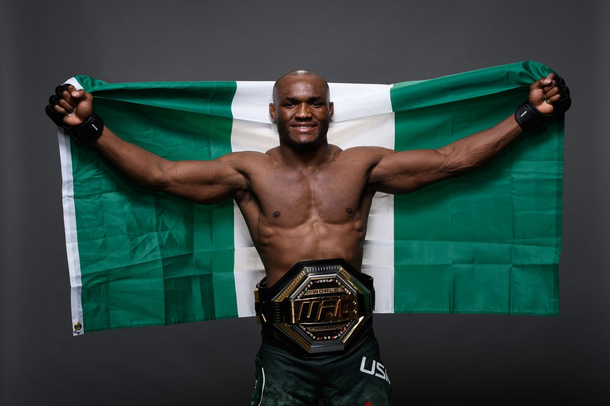 NIGERIA'S KAMARU USMAN KNOCKS OUT COLBY COVINGTON TO RETAIN UFC WELTERWEIGHT TITLE