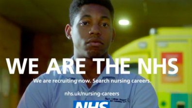 MALACHI CONNOLLY, STAFF NURSE AT KING'S COLLEGE HOSPITAL STARS IN A GROUNDBREAKING NEW TV ADVERT TO HIGHLIGHT THE IMPORTANT, VALUABLE AND VARIED NURSING ROLES AVAILABLE IN THE NHS