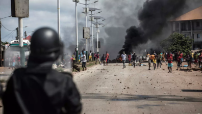 GUINEA HIT BY DEADLY POST-ELECTION VIOLENCE