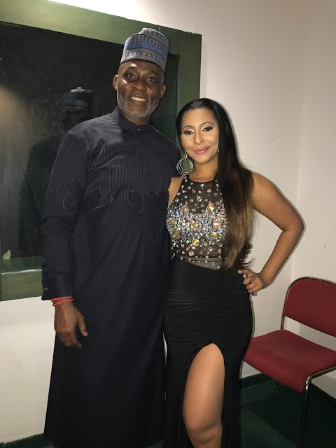 Voxafrica TV's Mimi Fawaz & Living Nollywood Legend, Richard Mofe-Damijo | To Host The 2016 GLO-CAF Awards