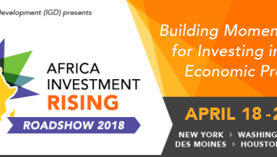 U.S. ROADSHOW TOUR TO SPUR ACTION ON INCREASING U.S. INVESTMENT IN AFRICA