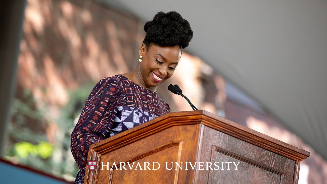 VIDEO | Chimamanda's Powerful Address To The Harvard Graduating Class Of 2018