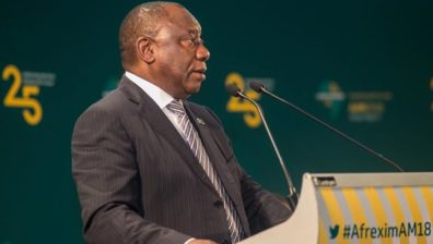 President Ramaphosa, at Afreximbank Annual Meetings, says AfCFTA will drive Intra-African trade and investments
