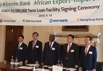 Afreximbank Closes $150 Million Korea-Focused Club Facility