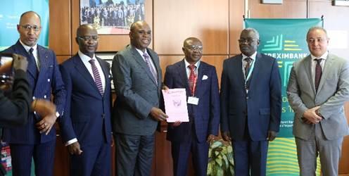 Central African Republic Formalises Afreximbank Membership, Deposits Ratification Document