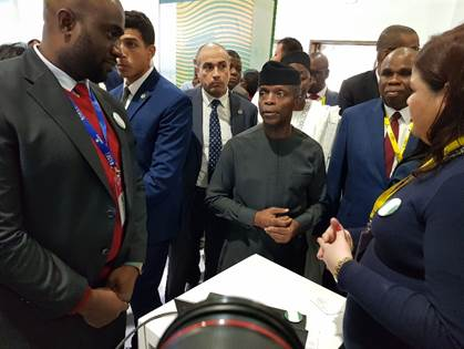 Vice President Osinbajo Leads Delegation to Nigeria Day at IATF