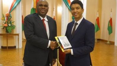 Madagascar President Seeks Afreximbank Support in Country's Industrialisation
