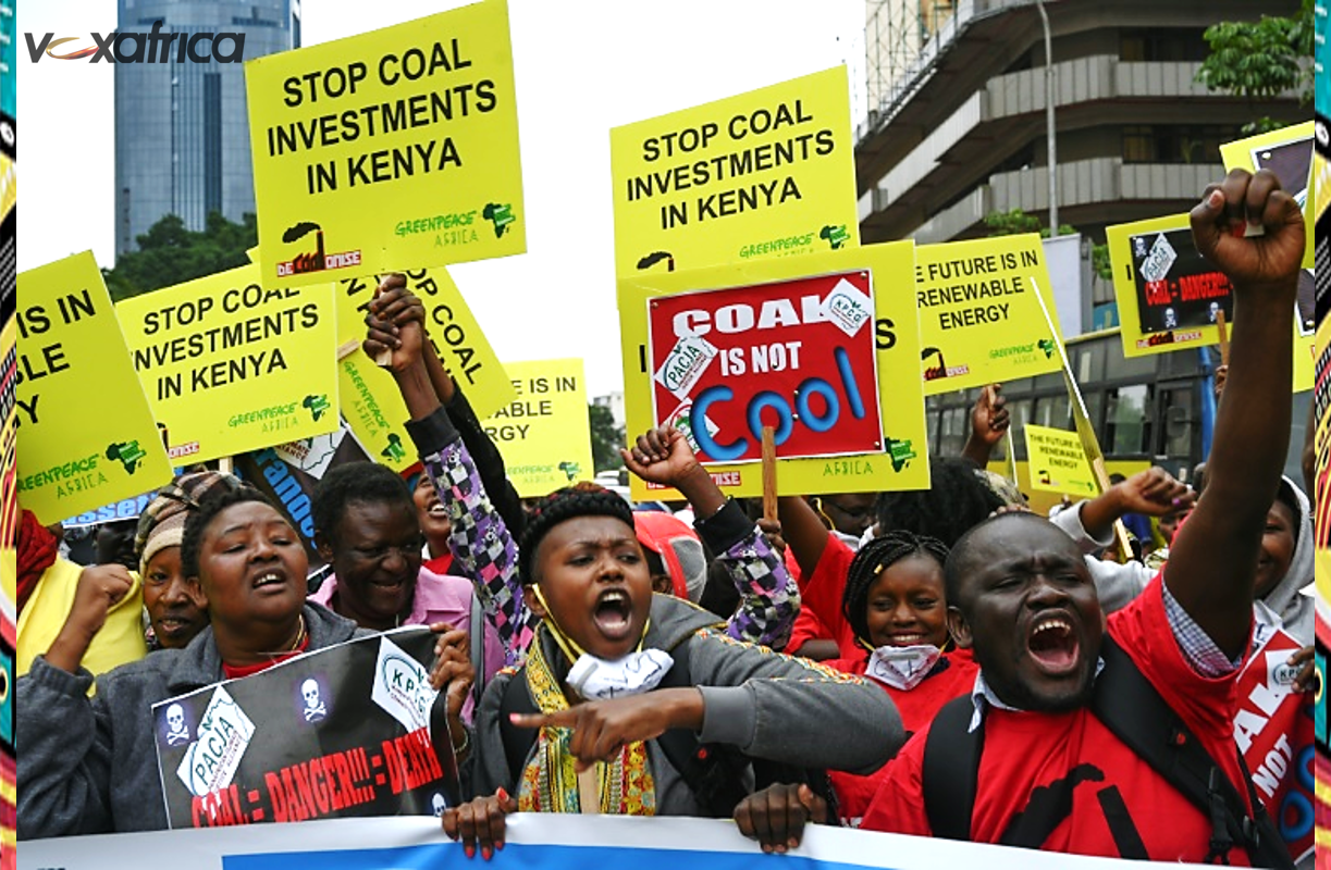 GREENPEACE AFRICA AND PARTNERS DEMAND A STOP TO COAL INVESTMENTS IN KENYA