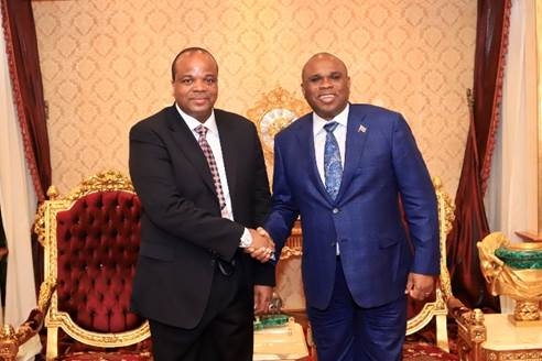 AFREXIMBANK PRESIDENT VISITS ESWATINI, SIGNS DECLARATION FOR CREDIT FACILITY OF UP TO $140 MILLION