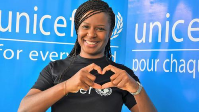 CHARLOTTE DIPANDA PLEDGES TO FIGHT FOR CHILDREN'S RIGHTS