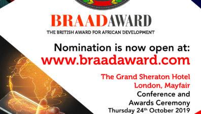 THE BRAAD AWARD 2019 | THURSDAY 24TH OCTOBER 2019 | LONDON, MAYFAIR