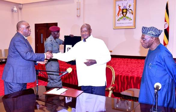 PRESIDENT MUSEVENI HIGHLIGHTS ROLE OF TRADE AS AFREXIMBANK SIGNS EAST AFRICA BRANCH OFFICE AGREEMENTS