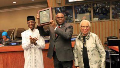 AFREXIMBANK PRESIDENT WINS 2019 AFRICAN RENAISSANCE AND DIASPORA NETWORK PRIVATE SECTOR DEVELOPMENT AWARD