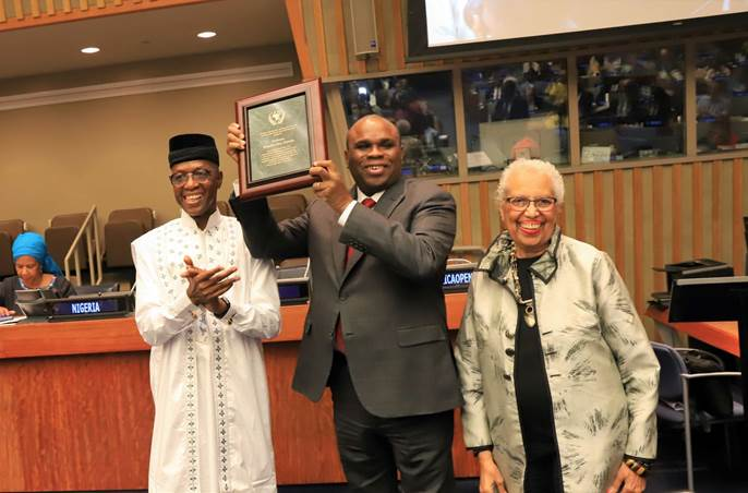 AFREXIMBANK PRESIDENT WINS 2019 AFRICAN RENAISSANCE AND DIASPORA NETWORK PRIVATE SECTOR DEVELOPMENT AWARD