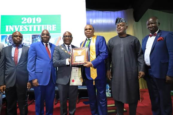 NIGERIA'S INSTITUTE OF BANKERS AWARDS FELLOWSHIP TO AFREXIMBANK PRESIDENT