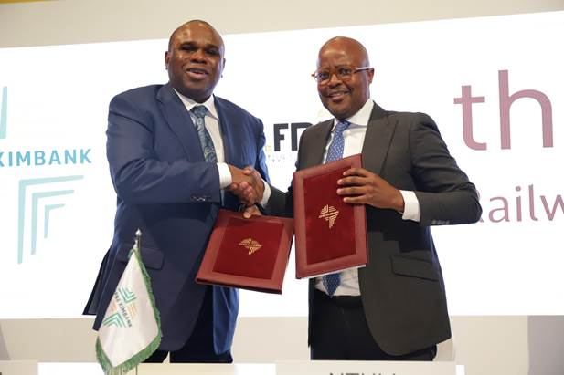 AFREXIMBANK, THELO DB SIGN MOU FOR RAILWAY DEVELOPMENT IN AFRICA