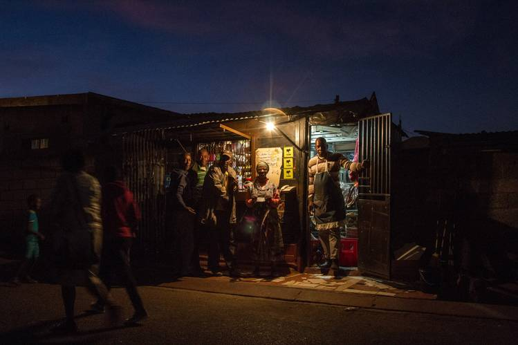 SOUTH AFRICA'S POWER BLACKOUTS INTENSIFY