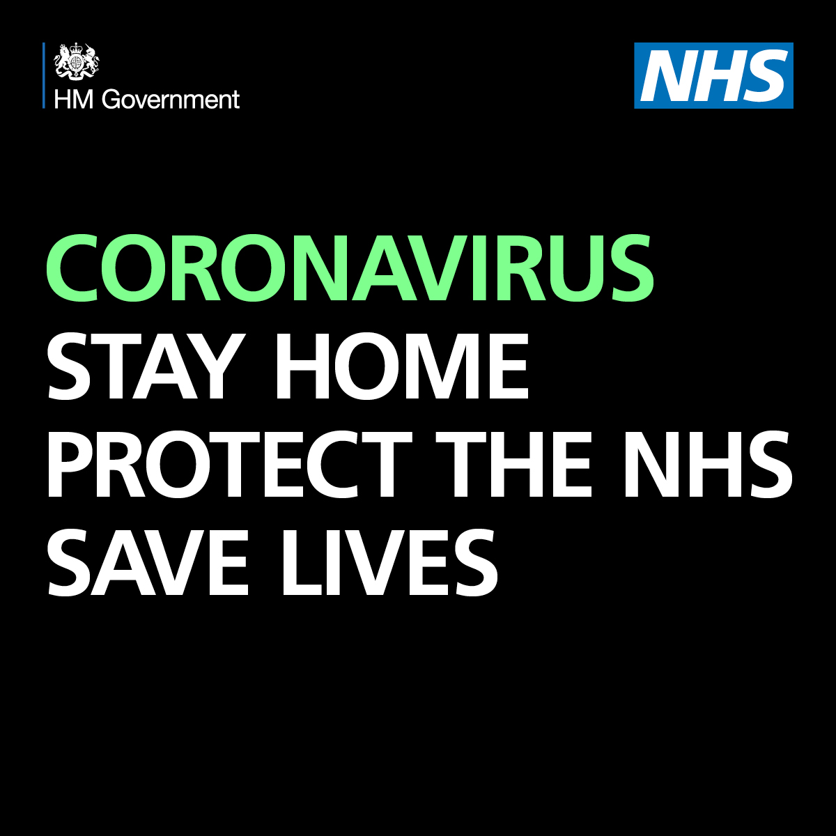 CORONAVIRUS: NEW RULES ON STAYING AT HOME AND AWAY FROM OTHERS