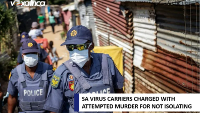 SA VIRUS CARRIERS CHARGED WITH ATTEMPTED MURDER FOR NOT ISOLATING