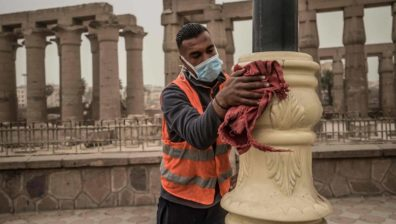 EGYPT CLEANS UP FOR RETURN OF TOURISTS