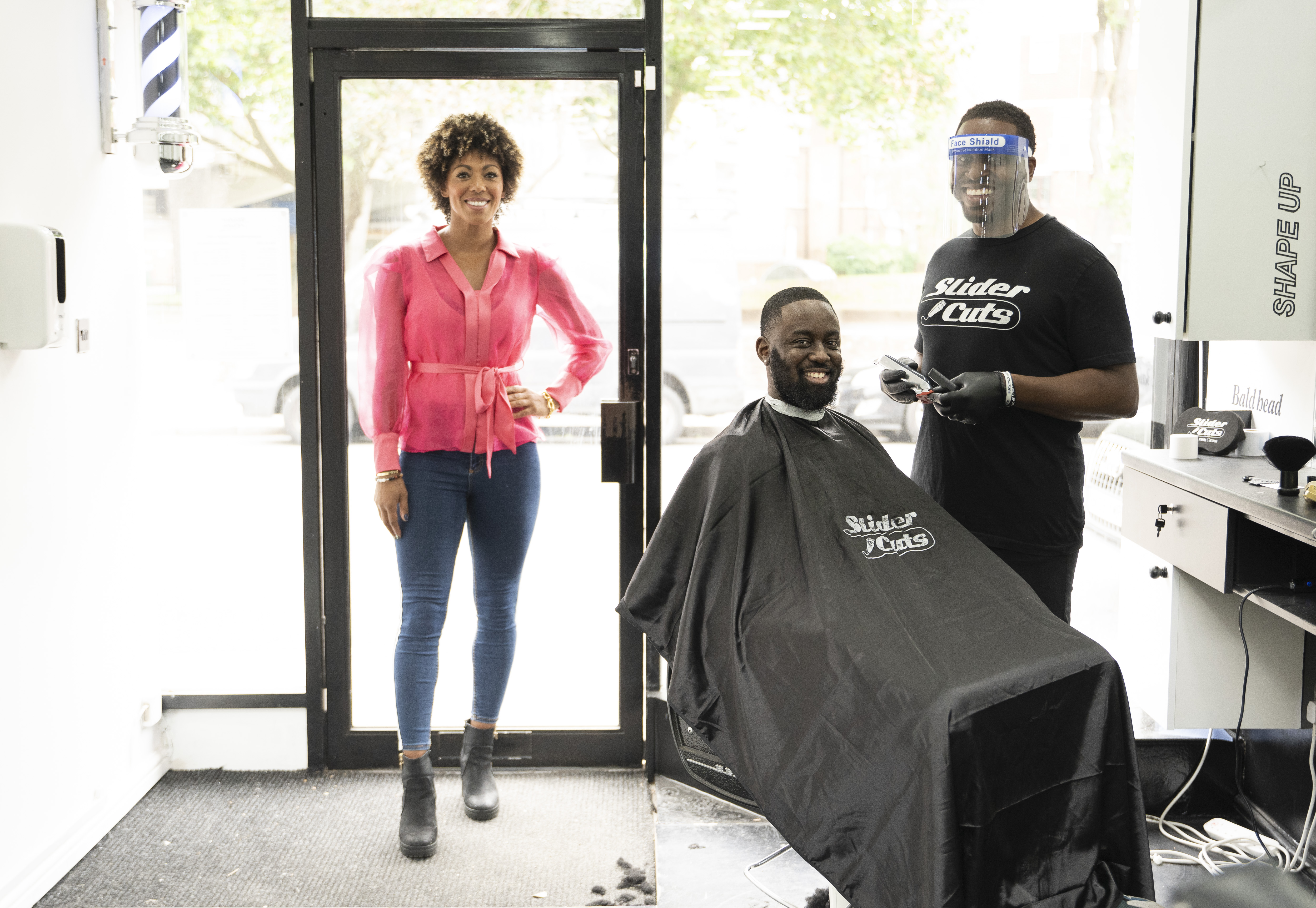 ESSENTIAL ADVICE ON STAYING SAFE AHEAD OF BARBERSHOPS AND HAIR SALONS REOPENING THIS WEEKEND