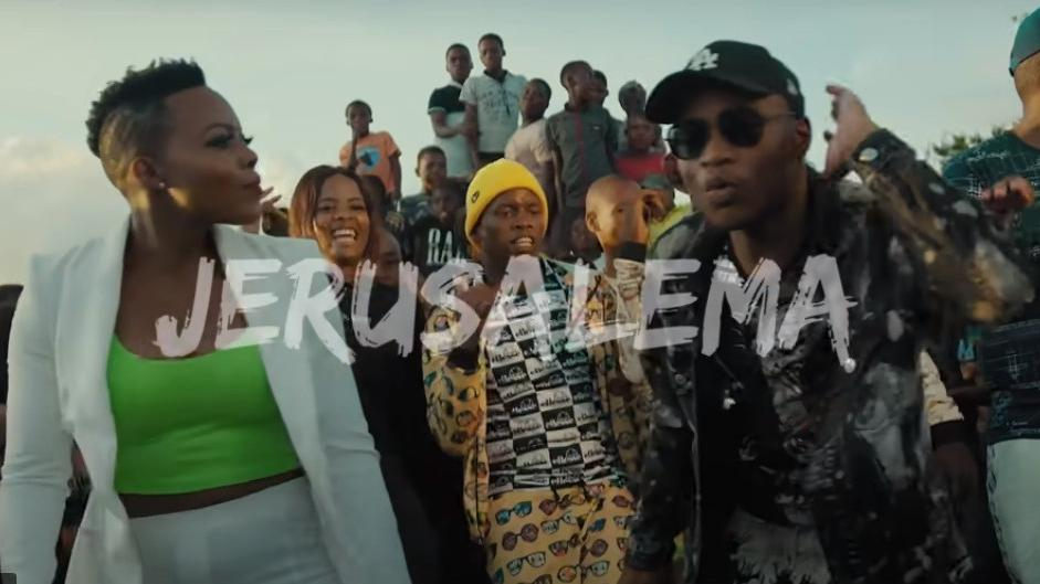 VIRUS-WEARY S.AFRICANS TAKE ON JERUSALEMA DANCE CRAZE