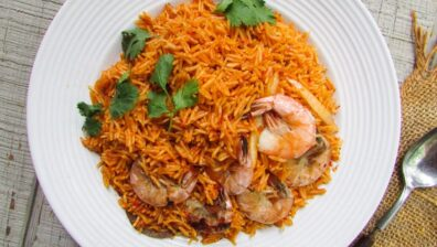 A HEALTHY TWIST ON JOLLOF RICE