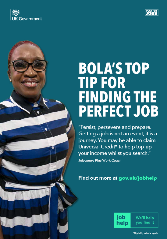 NEW CAMPAIGN SHOWCASES HOW DWP WORK COACHES ARE HELPING JOBSEEKERS FIND WORK