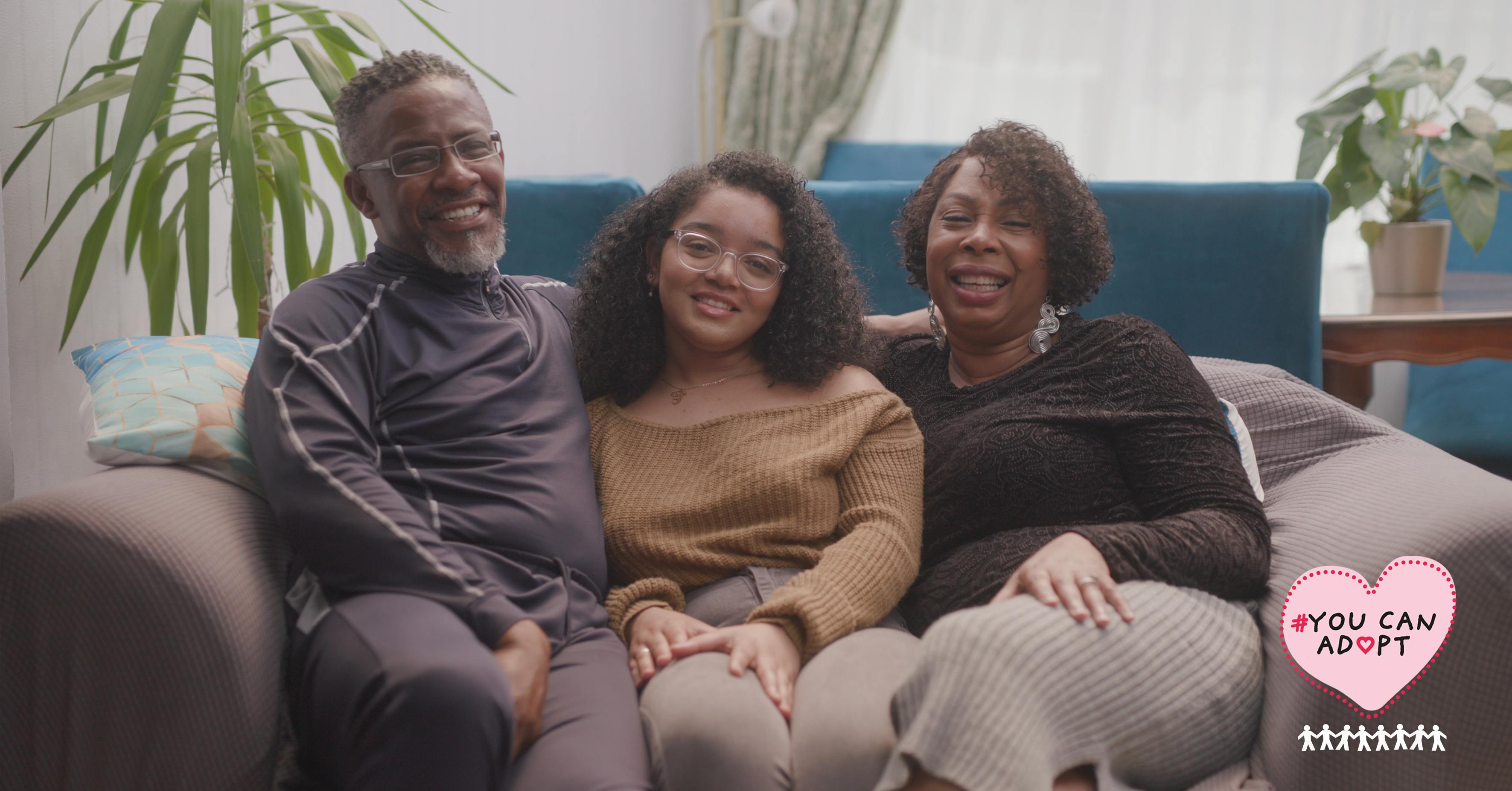 THE #YOUCANADOPT CAMPAIGN LAUNCHES A NEW FILM FEATURING BLACK ADOPTIVE PARENTS SHARING THEIR EXPERIENCES